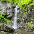 Pano of Hemlock Brook Falls